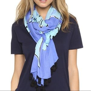 Kate spade seahorse scarf